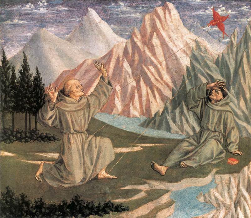 The Stigmatization of St Francis. Domenico Veneziano