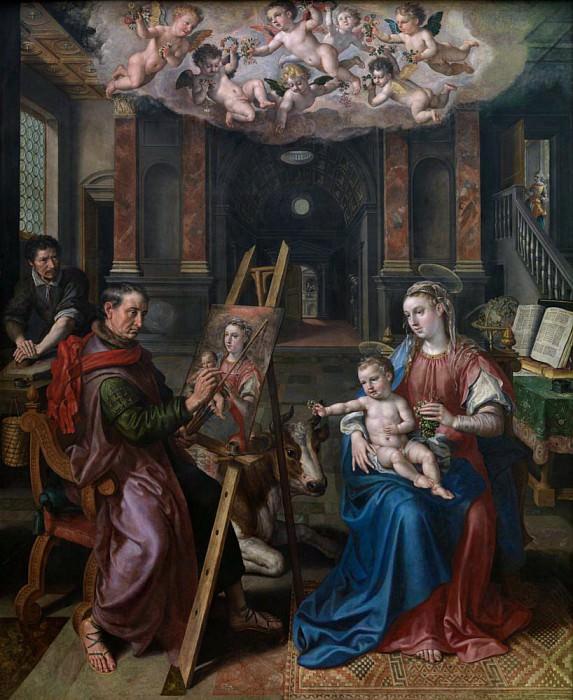 Святой Лука рисует Богородицу. Мартин де Вос