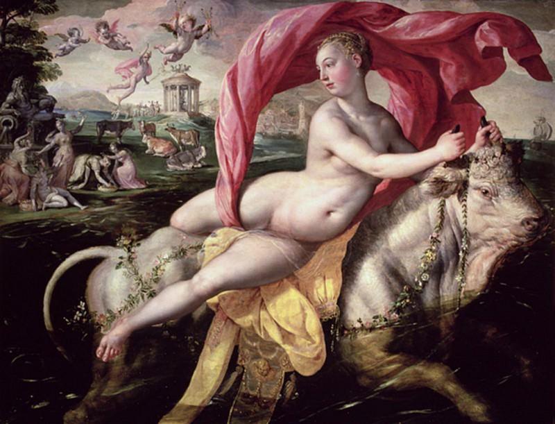 The Rape of Europa. Maarten de Vos