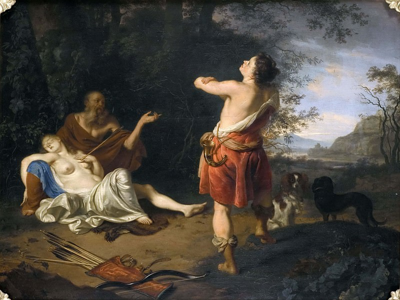 Cephalus and Procris. Ary de Vois