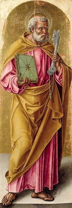 Сан-Пьетро (полиптих Сканцо). Бартоломео Виварини