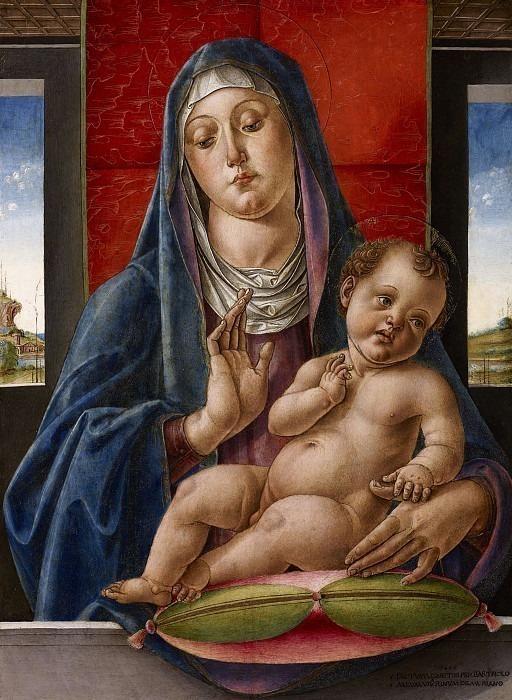 Мадонна с младенцем. Бартоломео Виварини