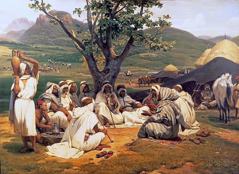The Arab Tale-teller. Horace Vernet