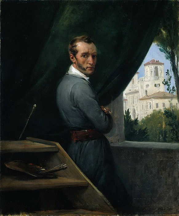 Self-Portrait. Horace Vernet