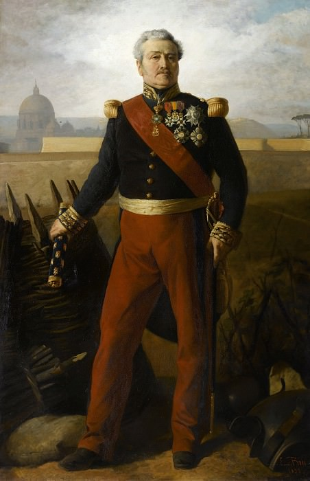 Jean-Baptiste-Philibert Vaillant, marechal de France (1790-1872). Horace Vernet