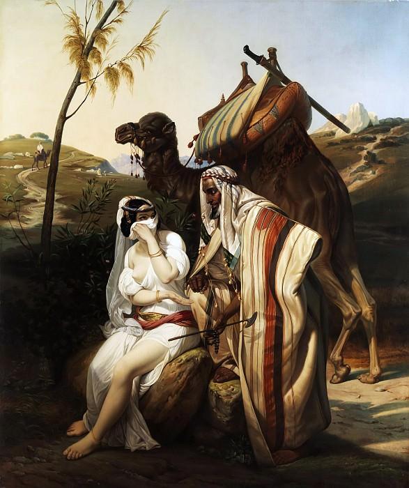 Judah and Tamar. Horace Vernet