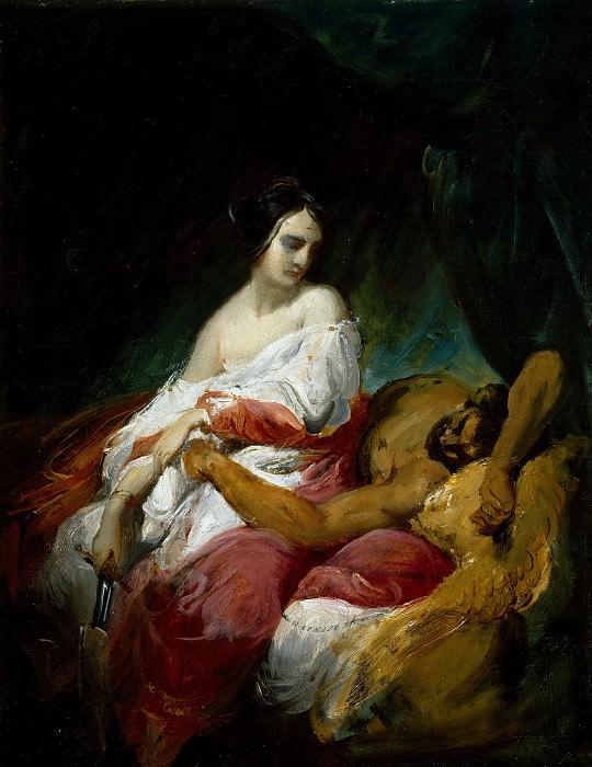 Judith and Holofernes. Horace Vernet