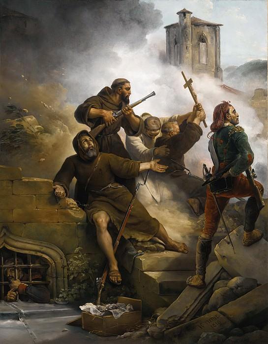 THE SIEGE OF Zaragoza. Horace Vernet