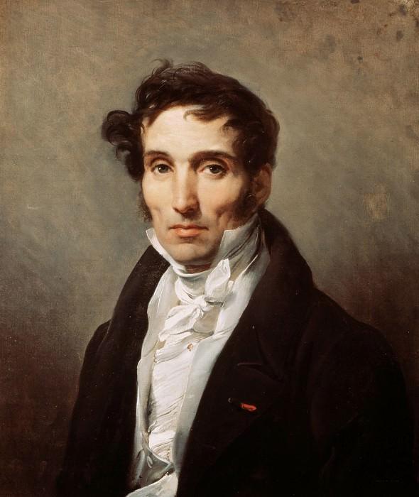 Portrait of Pierre Guerin Narcise. Horace Vernet