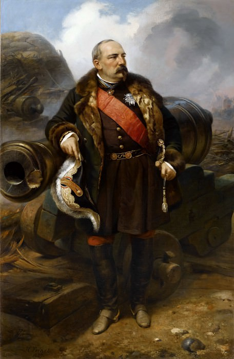Pierre-Joseph-Francois Bosquet, Marshal of France (1810-1861). Horace Vernet