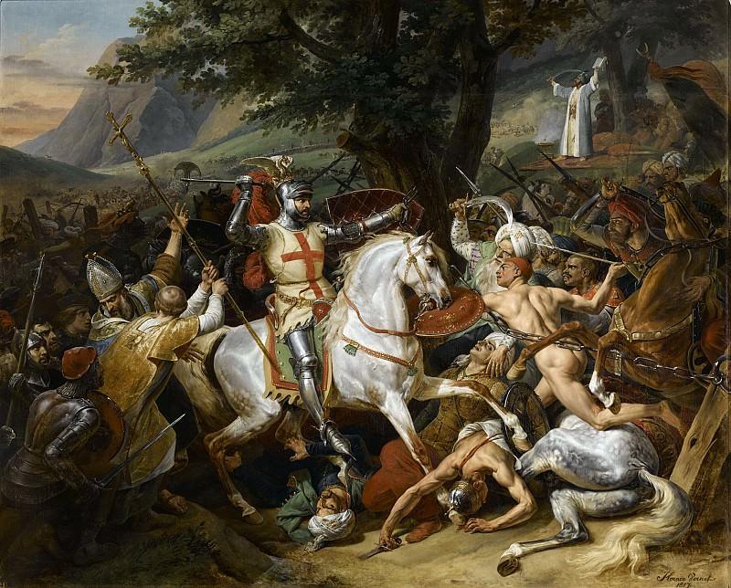 Battle of Las Navas de Tolosa, 1212. Horace Vernet