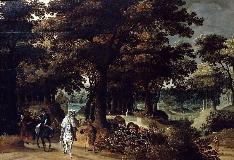 Граф Лука де-Векки верхом на лошади. Давид Винкбонс