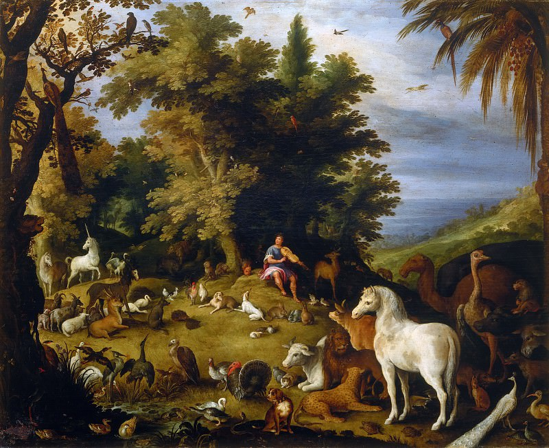 Orpheus and the Beasts. Sebastien Vrancx