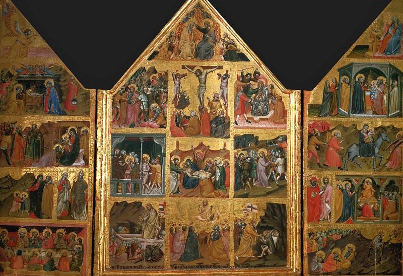 Passions (triptych). Giovanni di Corraduccio