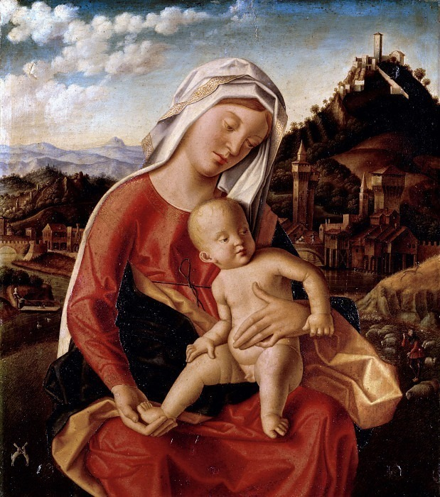 Мадонна с младенцем. Бартоломео Венето