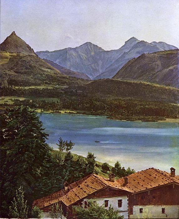 Wolfgangsee 1835. Ferdinand Georg Waldmüller