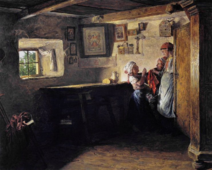 The Child's Request (The Old Box). Ferdinand Georg Waldmüller