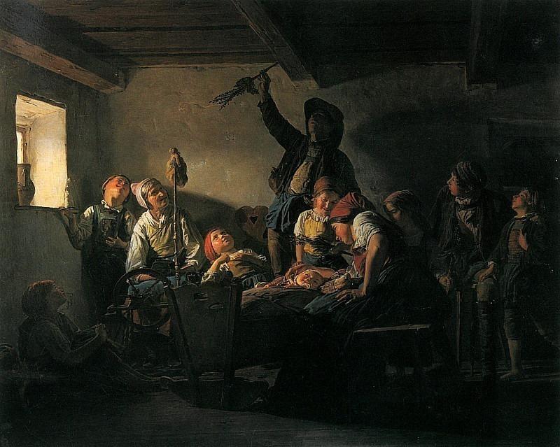 Palmsonntag 1852. Ferdinand Georg Waldmüller