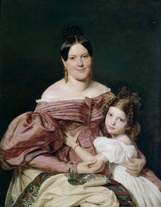 Mother and child. Ferdinand Georg Waldmüller