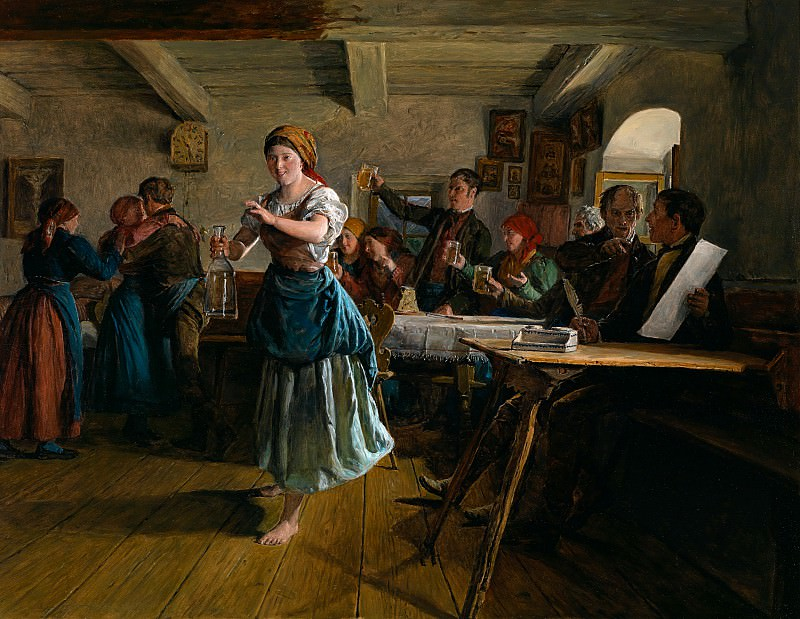 The Opening Dance. Ferdinand Georg Waldmüller