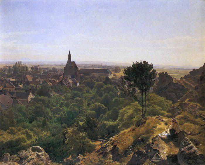 Солнечный день. (1848). Ferdinand Georg Waldmüller