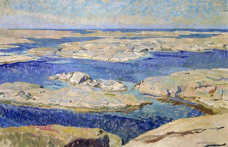 The Gåsö Skerries. Carl Wilhelmson