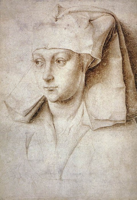 Portrait of a Young Woman c1440. Rogier Van Der Weyden