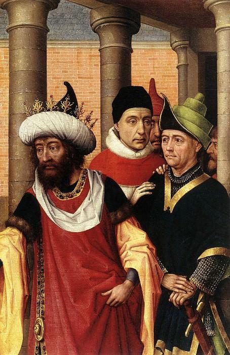 Weyden Group of Men. Rogier Van Der Weyden
