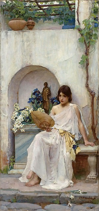 FLORA. John William Waterhouse