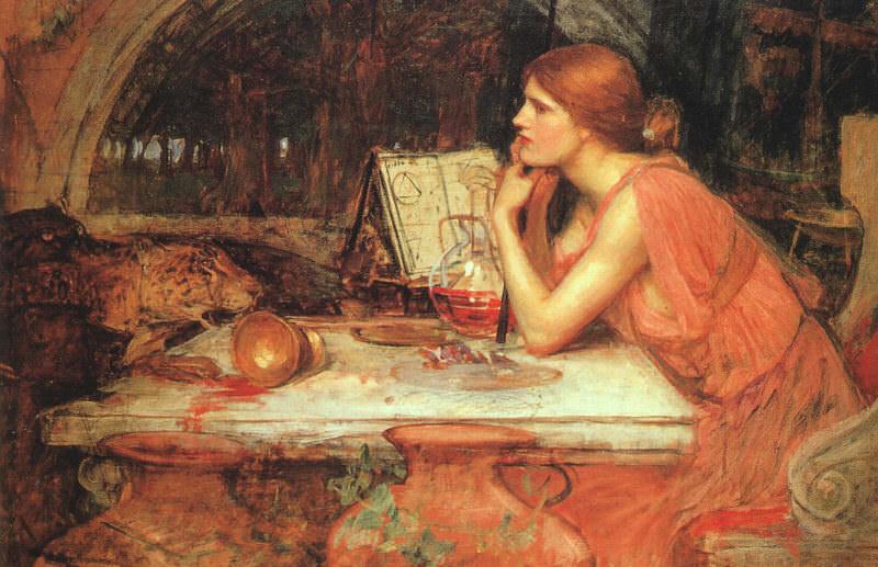 The Sorceress. John William Waterhouse