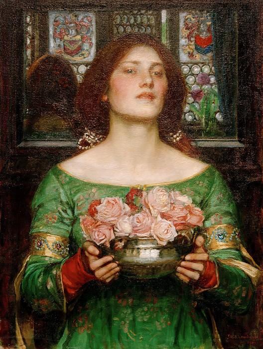 Gather Ye Rosebuds While Ye May. John William Waterhouse