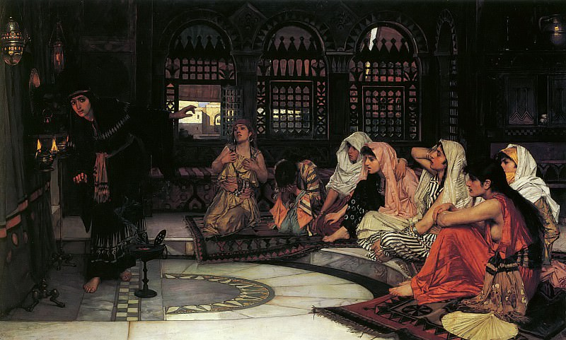 Consulting the Oracle. John William Waterhouse