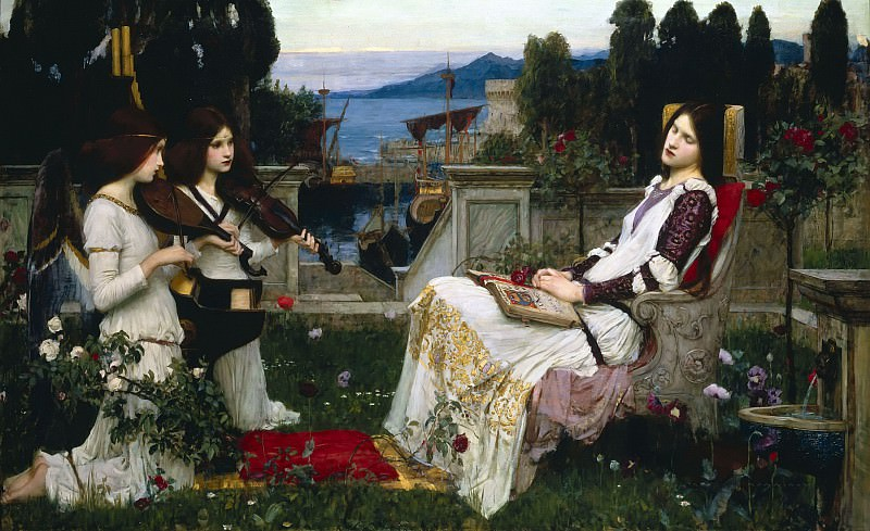 Saint Cecilia. John William Waterhouse