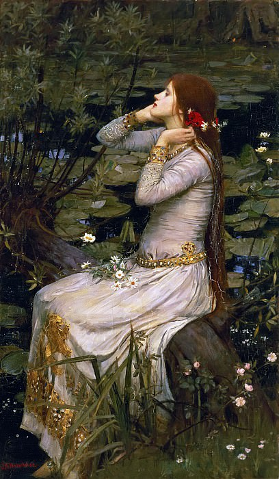 Ophelia. John William Waterhouse