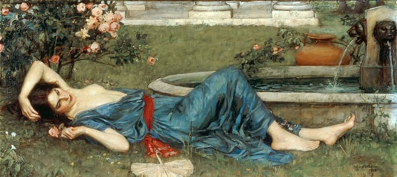 Sweet Summer. John William Waterhouse