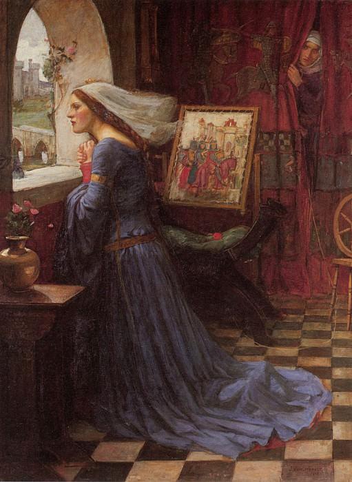 Fair Rosamund. John William Waterhouse