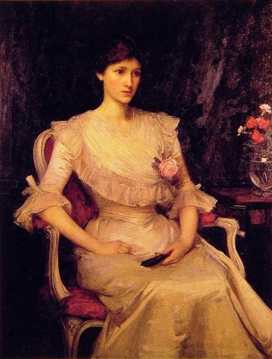 Miss Margaret Henderson. John William Waterhouse
