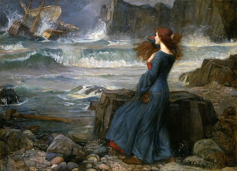 Miranda. John William Waterhouse