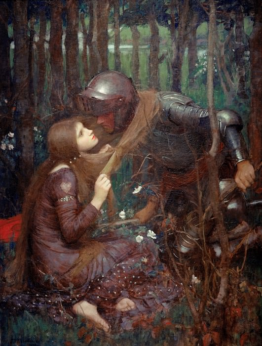 La Belle Dame Sans Merci. John William Waterhouse