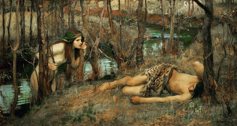 The Naiad. John William Waterhouse