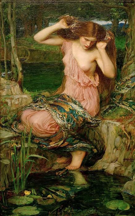 Lamia. John William Waterhouse