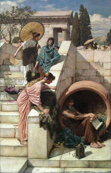 Diogenes. John William Waterhouse