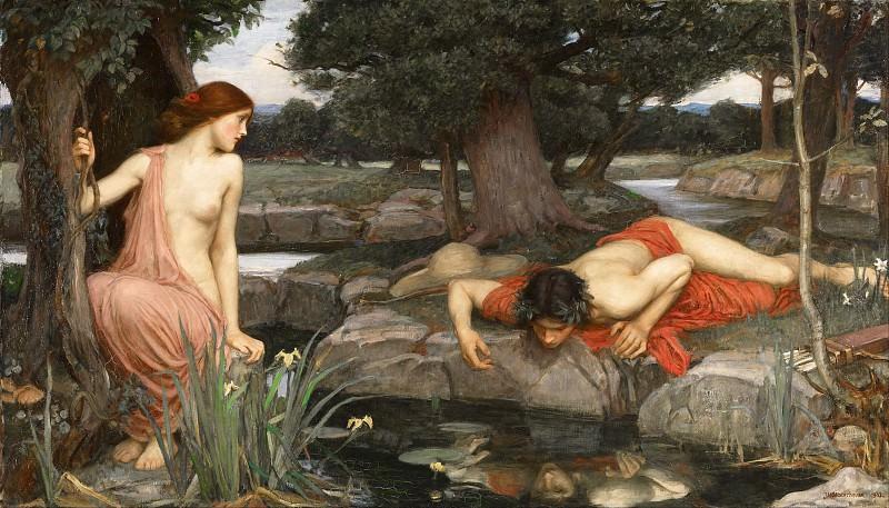 Echo and Narcissus. John William Waterhouse