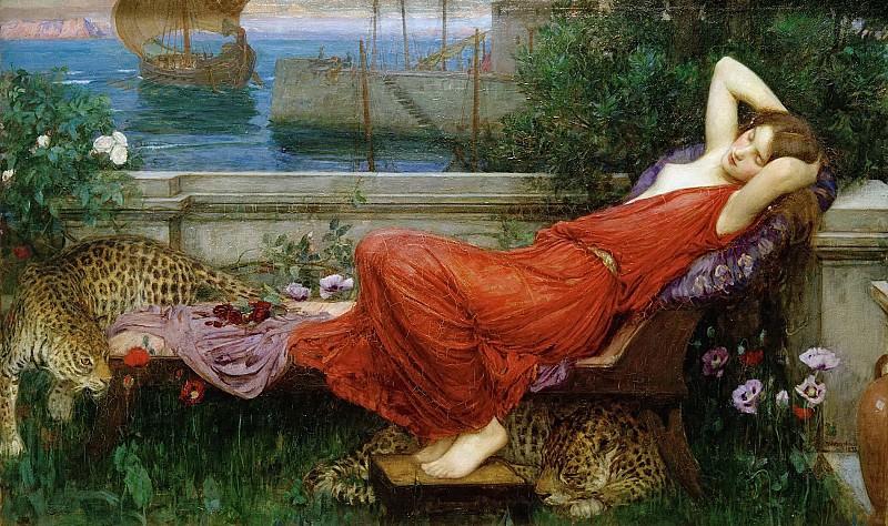 Ariadne. John William Waterhouse
