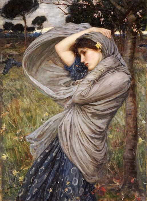 Boreas. John William Waterhouse