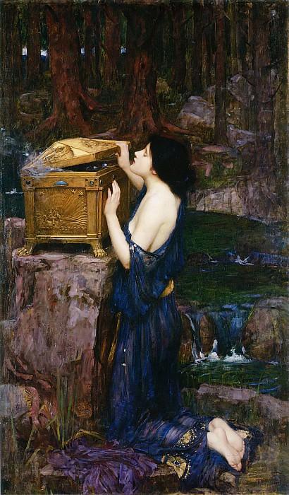 Pandora. John William Waterhouse