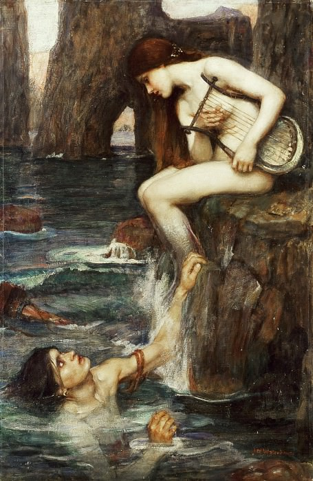 The Siren. John William Waterhouse