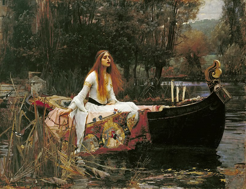 The Lady of Shalott. John William Waterhouse