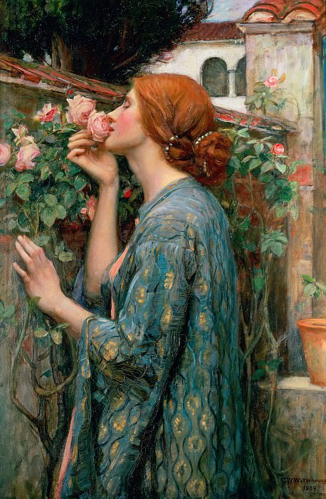 The Soul of the Rose. John William Waterhouse
