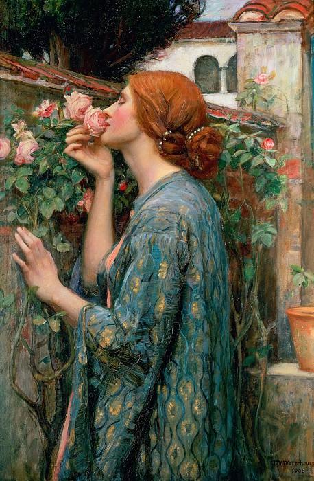 Душа розы. Джон Уильям Уотерхаус